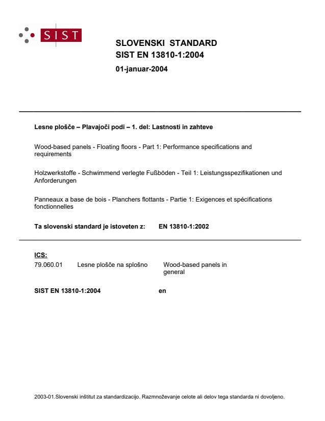 EN 13810-1:2004