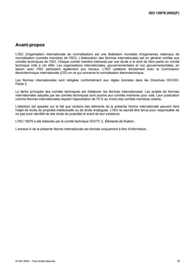 ISO 15976:2002 - Rivets aveugles a rupture de tige a corps fermé, a tete bombée -- St/St