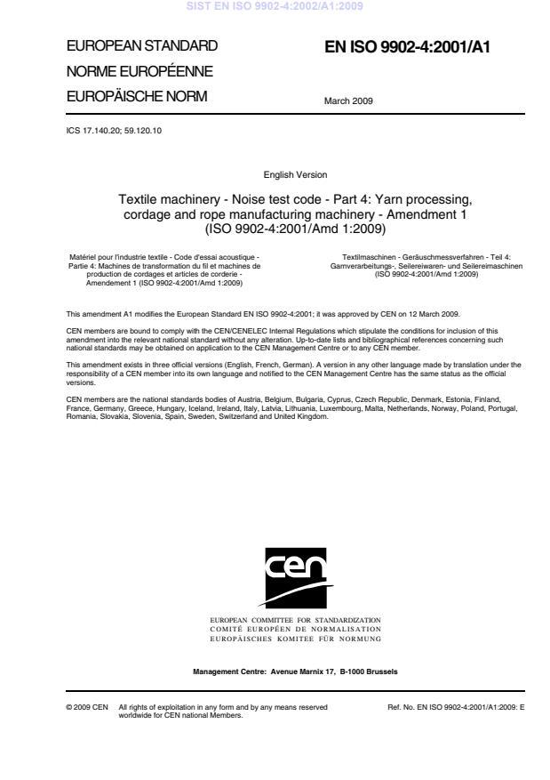 SIST EN ISO 9902-4:2002/A1:2009
