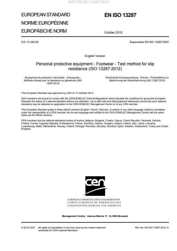 SIST EN ISO 13287:2013 - natisnjeno za čitalnico