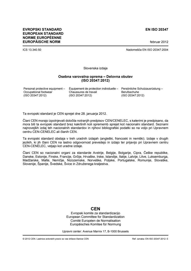 SIST EN ISO 20347:2012 - za tisk (marec 2016)