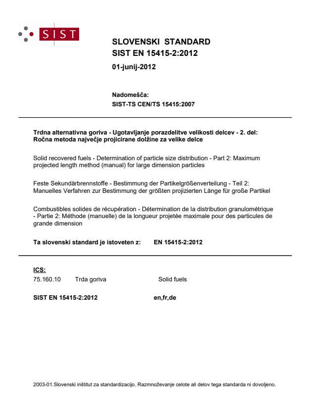 SIST EN 15415-2:2012