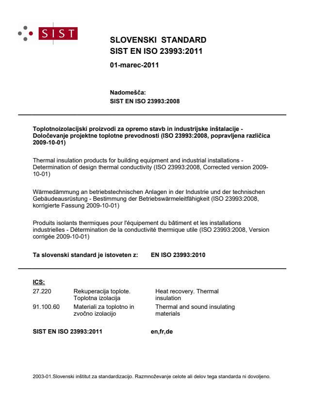 EN ISO 23993:2010
