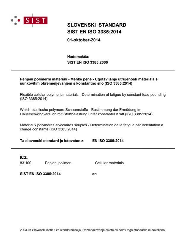 EN ISO 3385:2014