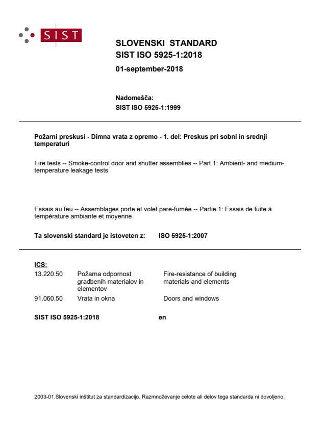 SIST ISO 5925-1:2018