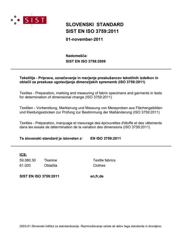 EN ISO 3759:2011