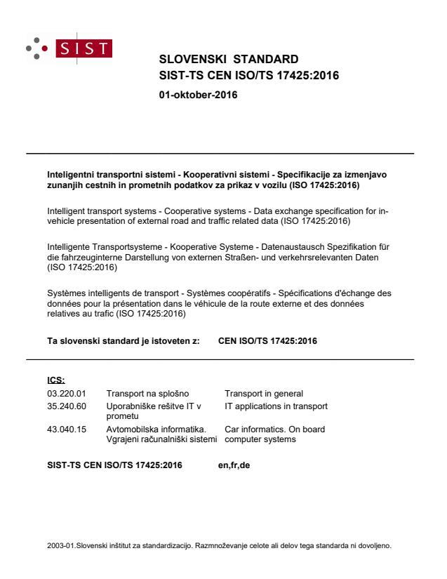 SIST-TS CEN ISO/TS 17425:2016 - BARVE na PDF-str 105,106,107,108,115,116