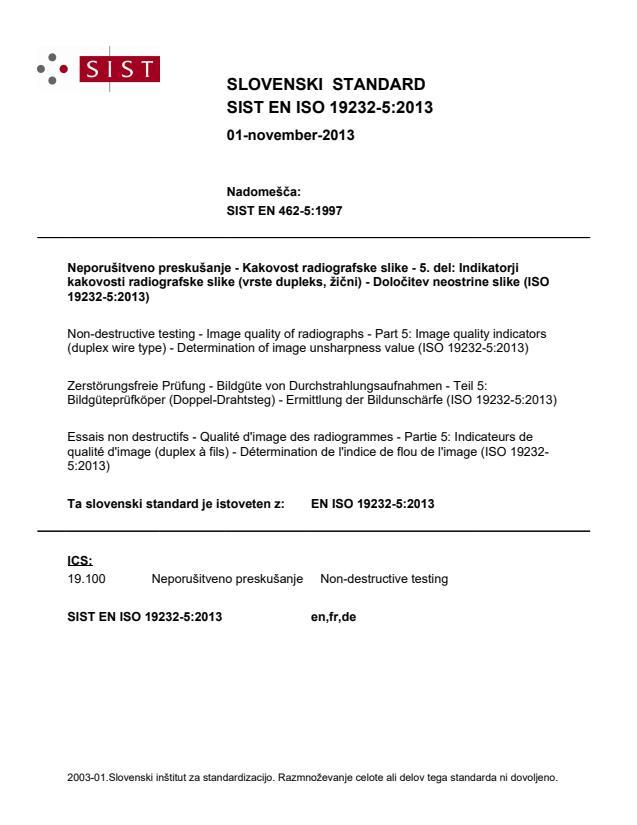 EN ISO 19232-5:2013