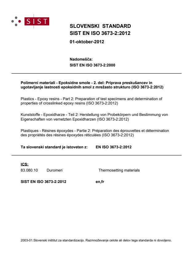 EN ISO 3673-2:2012