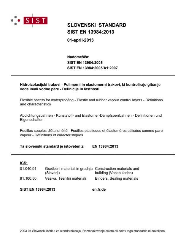 EN 13984:2013
