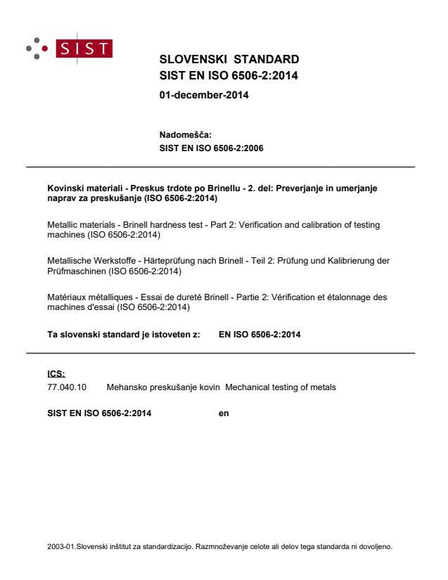 EN ISO 6506-2:2014