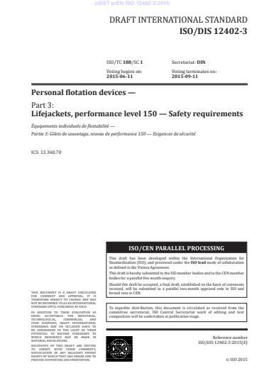 SIST EN ISO 12402-3:2020