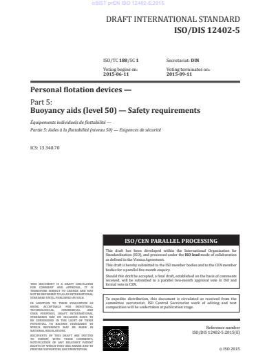 SIST EN ISO 12402-5:2020