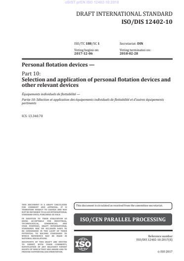 SIST EN ISO 12402-10:2020