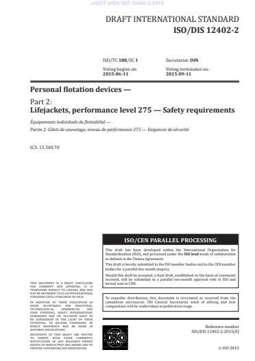 SIST EN ISO 12402-2:2020