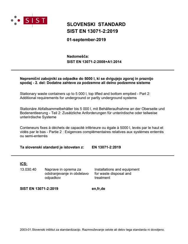 EN 13071-2:2019