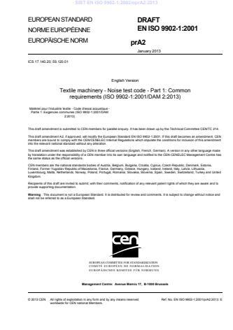 SIST EN ISO 9902-1:2002/oprA2:2013