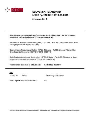FprEN ISO 16610-60:2015 - BARVE na PDF-strani 17