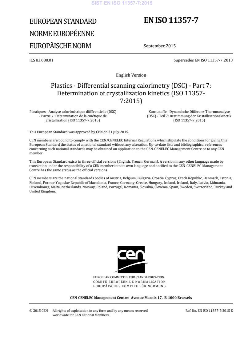 SIST EN ISO 11357-7:2015