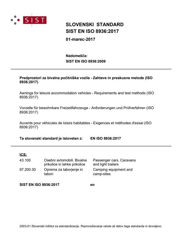 EN ISO 8936:2017