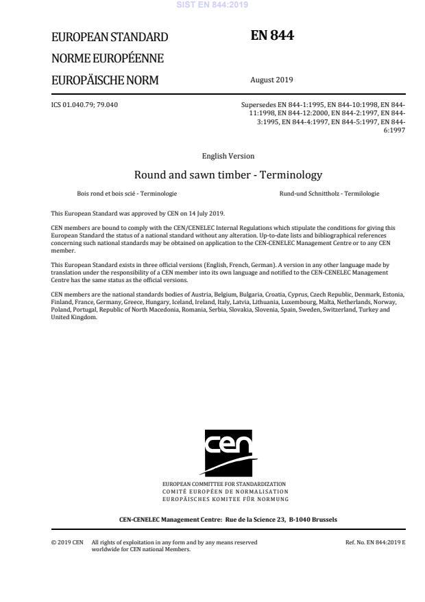SIST EN 844:2019 - Na SIST-naslovnici manjka ICS 01.040.79 (zaradi preveč razveljavitev se razširi na dve strani).