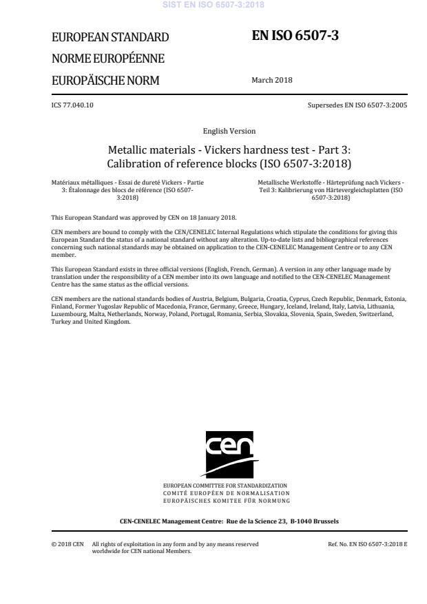 EN ISO 6507-3:2018