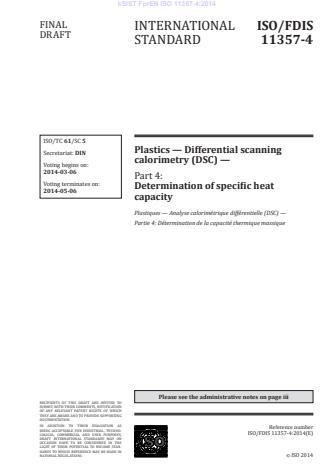 SIST EN ISO 11357-4:2014
