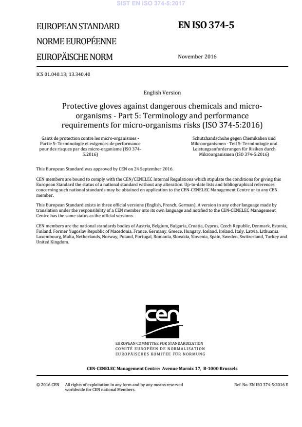 EN ISO 374-5:2016