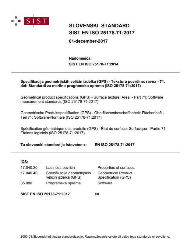 EN ISO 25178-71:2017 - BARVE na PDF-str 20