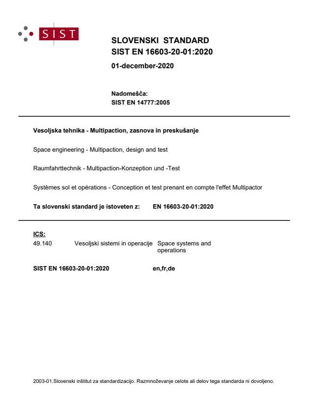 SIST EN 16603-20-01:2020 - BARVE na PDF-str 14,24,46