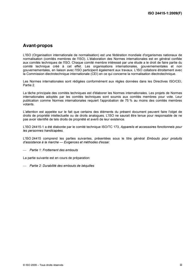 ISO 24415-1:2009 - Embouts pour produits d'assistance a la marche -- Exigences et méthodes d'essai