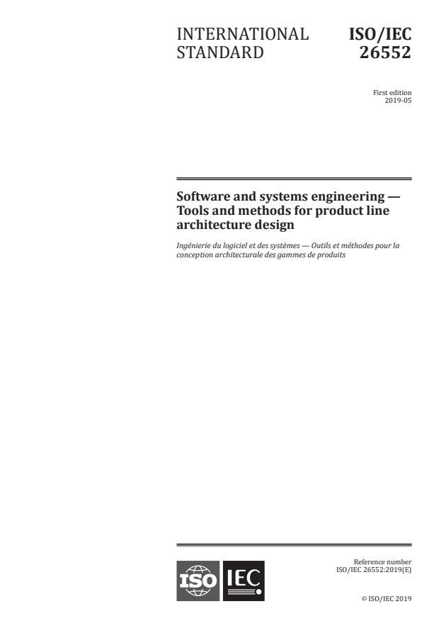 ISO/IEC 26552:2019