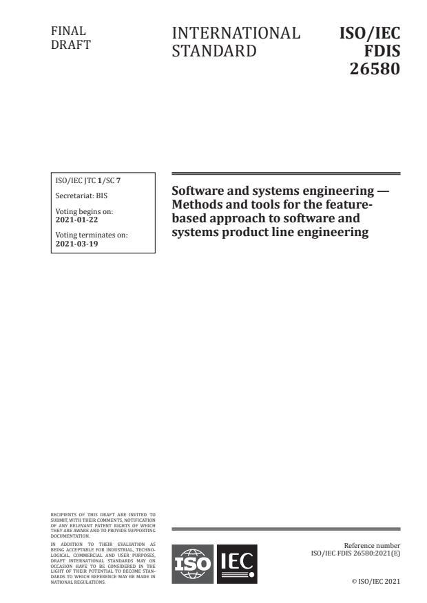 ISO/IEC 26580:2021