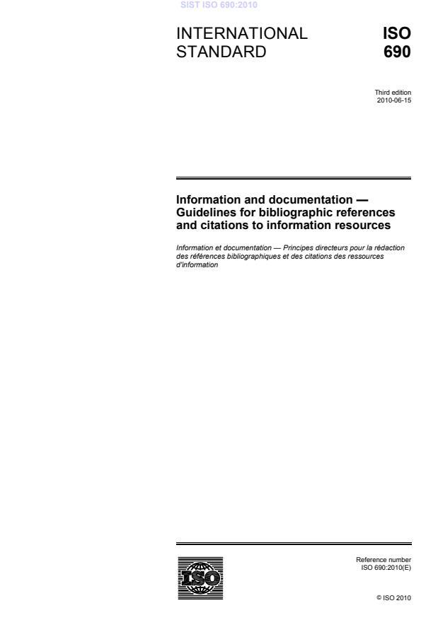 ISO 690:2010 - natisnjeno za čitalnico