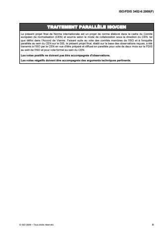 ISO 3452-6:2008 - Essais non destructifs -- Examen par ressuage