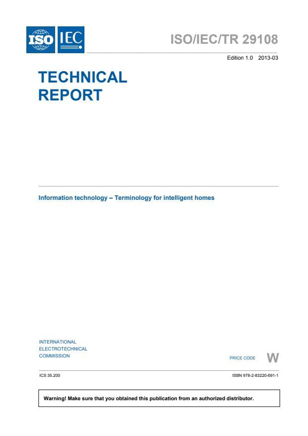 ISO/IEC TR 29108:2013
