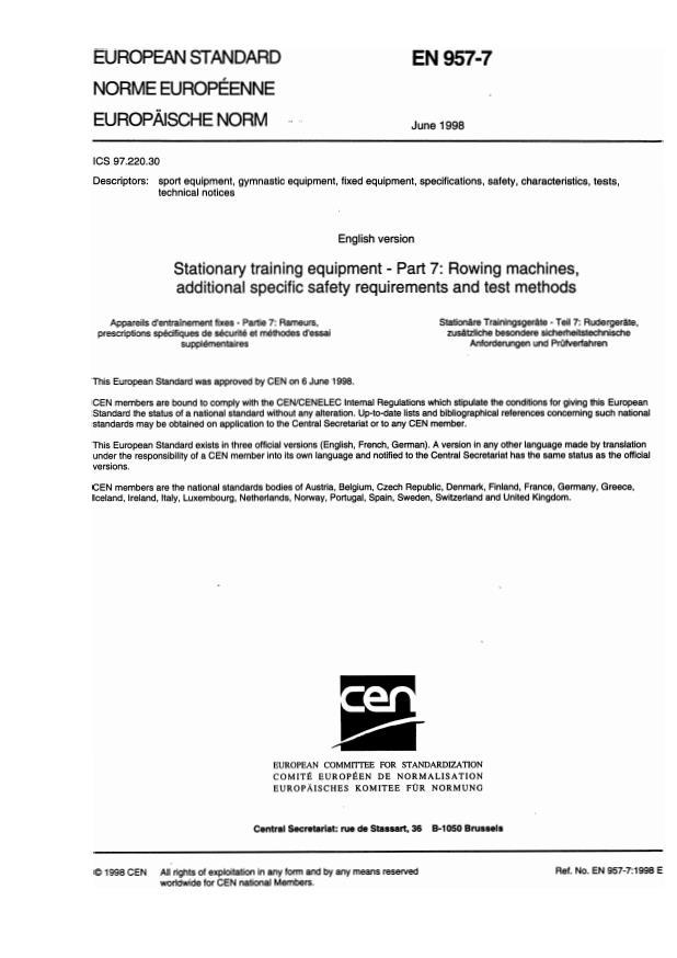EN 957-7:2002
