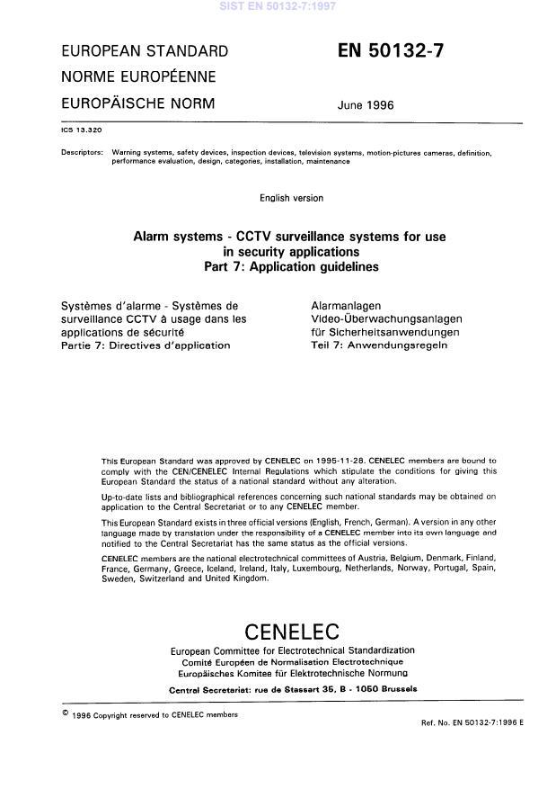 SIST EN 50132-7:1997