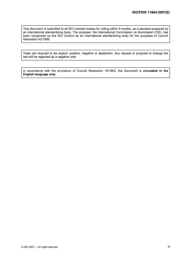 ISO/FDIS 11664 - Colorimetry -- CIE 1976 L*a*b* Colour space