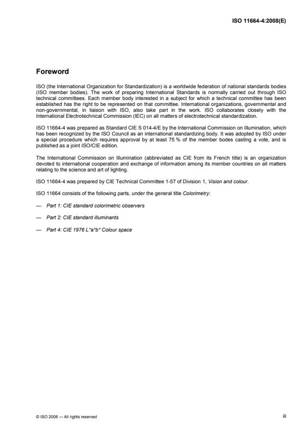 ISO 11664-4:2008 - Colorimetry