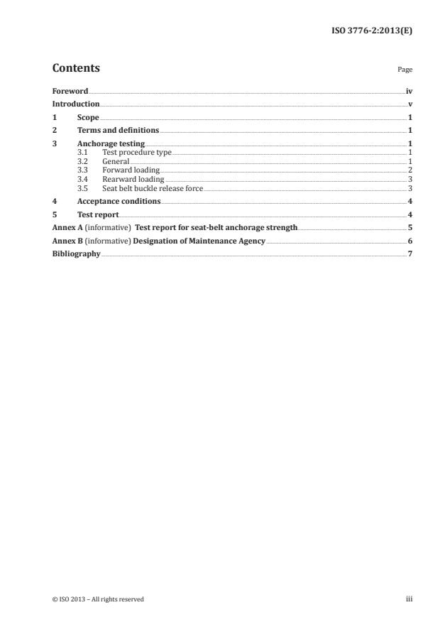 ISO 3776-2:2013 - Tractors and machinery for agriculture -- Seat belts