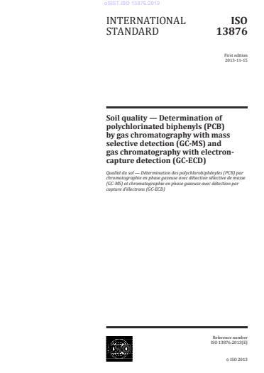 oSIST ISO 13876:2019