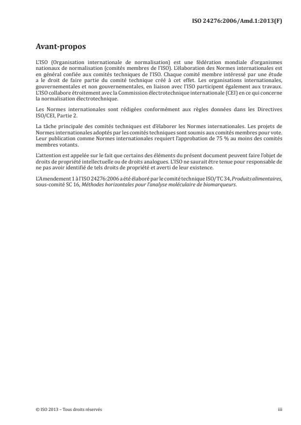 ISO 24276:2006/Amd 1:2013