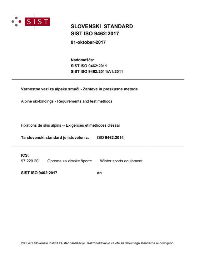 SIST ISO 9462:2017