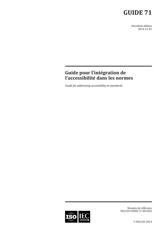 ISO/IEC Guide 71:2014