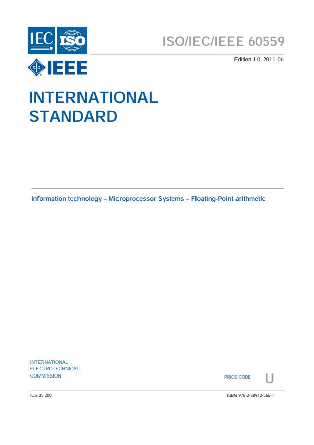 ISO/IEC/IEEE 60559:2011