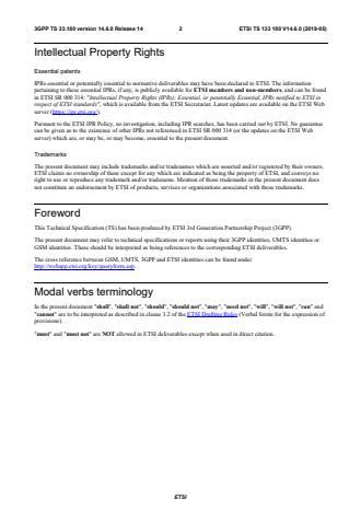 ETSI TS 133 180 V14.6.0 (2019-05)