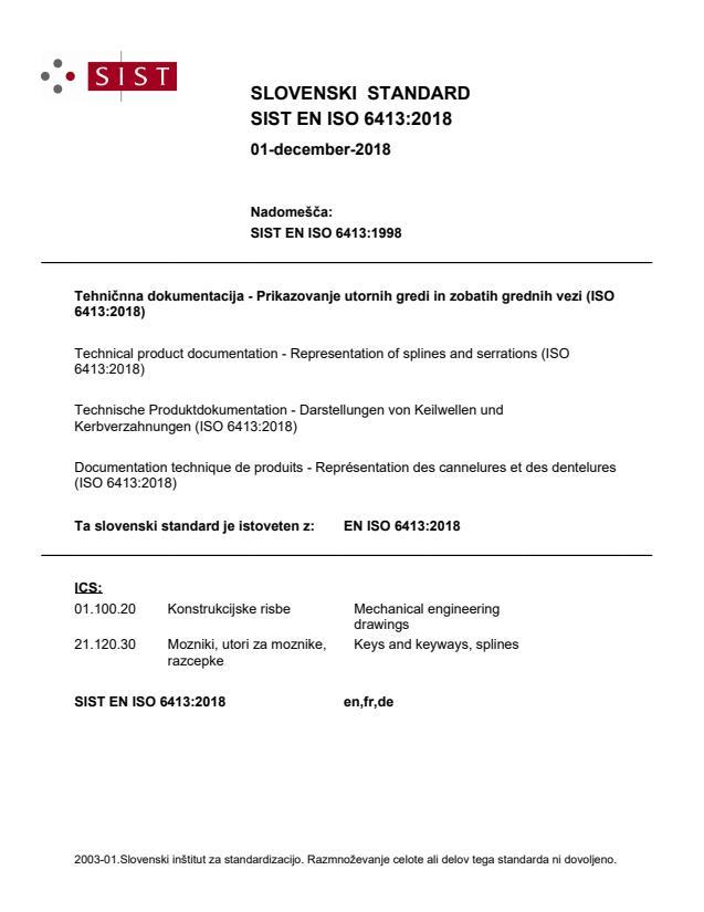 EN ISO 6413:2018