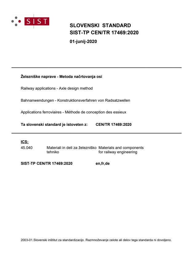 SIST-TP CEN/TR 17469:2020