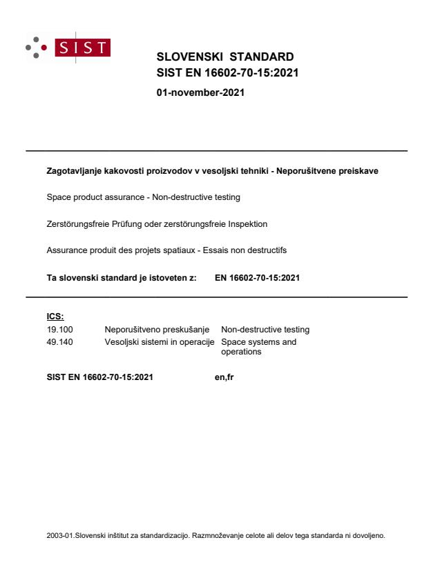 SIST EN 16602-70-15:2021 - BARVE na PDF-str 21,51,52,53
